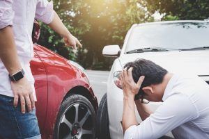 rental car accidents - what to do