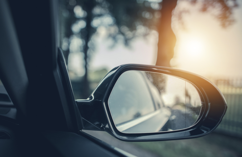 blind spot accident who is at fault